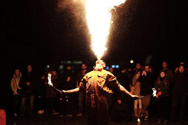 plucie ogniem, atrakcja na event