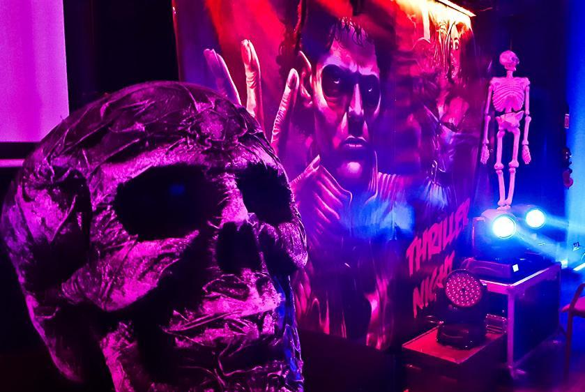 thriller party, dekoracje horror