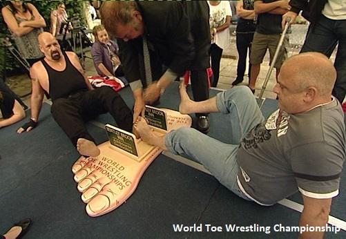 world toe wrestling championship